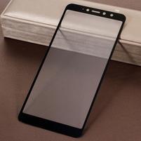 Silky celoplošné tvrzené sklo na mobil Xiaomi Redmi S2 - černé