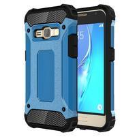 Armory odolný obal na mobil Samsung Galaxy J1 (2016) - modrý
