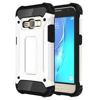Armory odolný obal na mobil Samsung Galaxy J1 (2016) - bílý