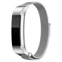 Steel řemínek z nerezové oceli na Fitbit Alta Mesh - stříbrný