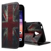 Stylové pouzdro na mobil Huawei Ascend Y550 - UK vlajka