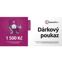 Darčekový poukaz na nákup v hodnote 1500 Kč
