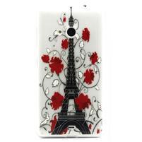 Gelový obal na mobil Microsoft Lumia 535 - Eiffelova věž