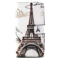 Peneženkové pouzdro na mobil LG G4c - Eiffelova věž