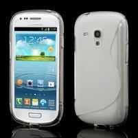 Transparentní gelové pouzdro pro Samsung Galaxy S3 mini /i8190