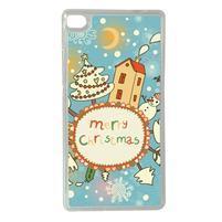Vánoční edice gelových obalů na Huawei Ascend P8 - Christmas