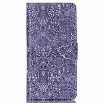 Pouzdro na mobil Huawei P8 Lite - textury květin