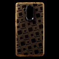 Square gelový obal na Huawei Mate 8 - zlatý