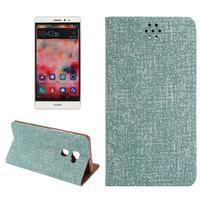 Style knížkové pouzdro na mobil Huawei Mate S - zelené