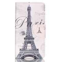 Patter PU kožené pouzdro na mobil Huawei P9 Lite - Paris