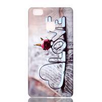 Shelly plastový obal na mobil Huawei P9 Lite - love