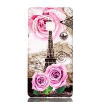 Shelly plastový obal na mobil Huawei P9 Lite - Eiffelova věž