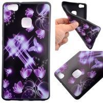 Gelový obal na telefon Huawei P9 Lite - kouzelní motýlci