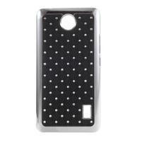Drahokamový kryt na Huawei Y635 - černý