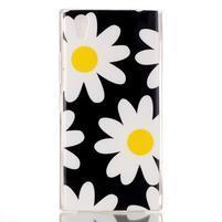 Softy gelový obal na mobil Lenovo P70 - sedmikrásky