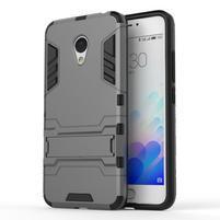 Armour odolný obal na mobil Meizu M3 note - šedý