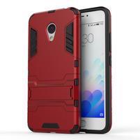 Armour odolný obal na mobil Meizu M3 note - červený