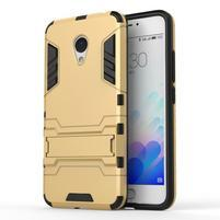 Armour odolný obal na mobil Meizu M3 note - zlatý
