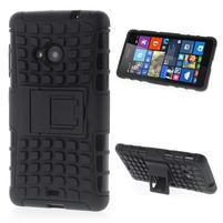 Vysoce odolný obal pro Microsoft Lumia 535 - černý