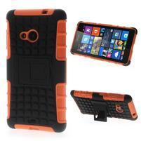 Vysoce odolný obal pro Microsoft Lumia 535 - oranžový