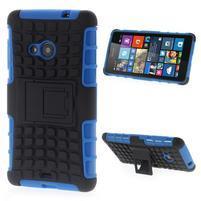 Vysoce odolný obal pro Microsoft Lumia 535 - modrý