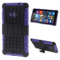 Vysoce odolný obal pro Microsoft Lumia 535 - fialový