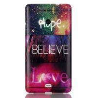 Soft gelový obal na mobil Microsoft Lumia 535 - láska