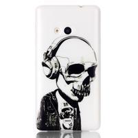 Soft gelový obal na mobil Microsoft Lumia 535 - skull