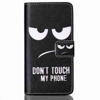 Peněženkové pouzdro na mobil LG Spirit - nešahat