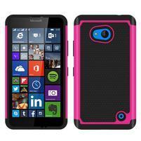 Odolný hybridní kryt na mobil Microsoft Lumia 640 - rose