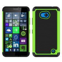 Odolný hybridní kryt na mobil Microsoft Lumia 640 - zelený