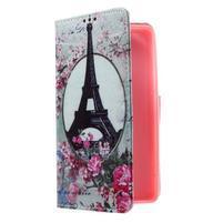 Cross peněženkové pouzdro na Huawei Honor 7 - Eiffelova věž