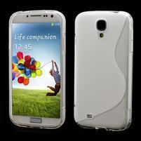 S-line gelový obal na Samsung Galaxy S4 - transparentní