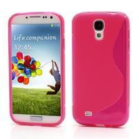 S-line gelový obal na Samsung Galaxy S4 - rose