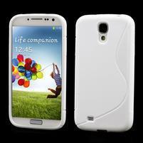 S-line gelový obal na Samsung Galaxy S4 - bílý