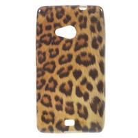Soft gelový obal na Microsoft Lumia 535 - leopard