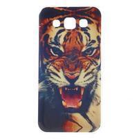 Gelový obal na mobil Samsung Galaxy E5 - tygr