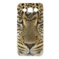 Gelový obal na mobil Samsung Galaxy E5 - leopard