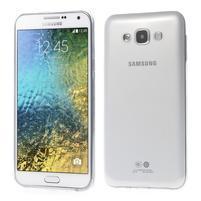 Ulta tenký obal na Samsung Galaxy E7 - transparentní