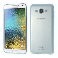 Ulta tenký obal na Samsung Galaxy E7 - světle modrý