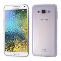 Ulta tenký obal na Samsung Galaxy E7 - fialový