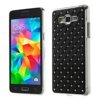 Černý drahokamový kryt na Samsung Grand Prime
