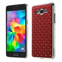 Červený drahokamový kryt na Samsung Grand Prime