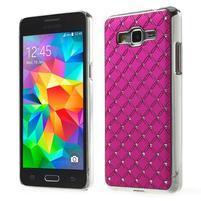 Rose drahokamový kryt na Samsung Grand Prime