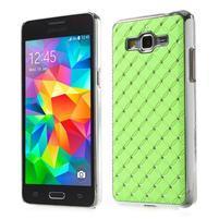 Zelený drahokamový kryt na Samsung Grand Prime