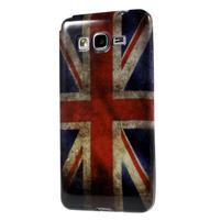 Gelový obal Samsung Galaxy Grand Prime G530H - UK vlajka