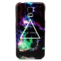 Luxury gelový obal na mobil Samsung Galaxy S5 - triangl