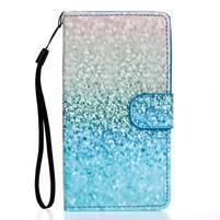 Knížkové PU kožené pouzdro na Samsung Galaxy S5 - glitter