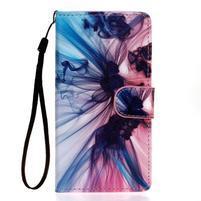 Knížkové PU kožené pouzdro na Samsung Galaxy S5 - iluze