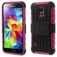 Outdoor odolný obal na mobil Samsung Galaxy S5 mini - rose